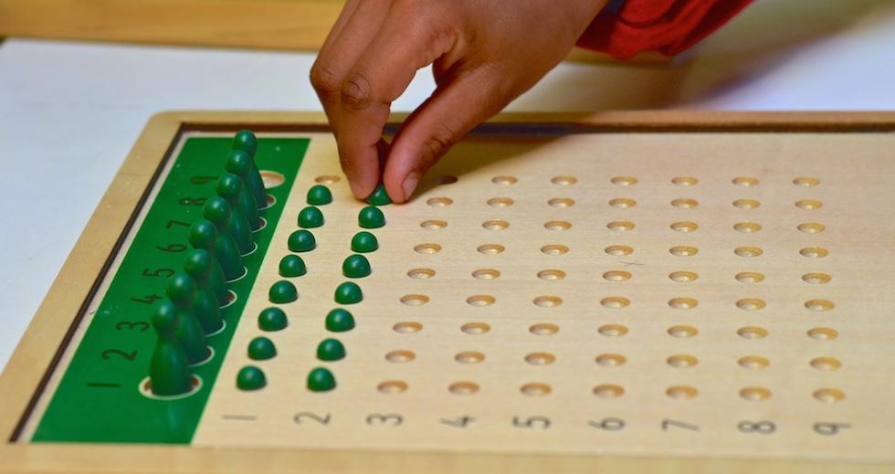 The Montessori division board
