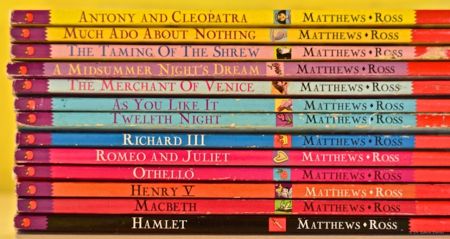 More Shakespeare is available in the library