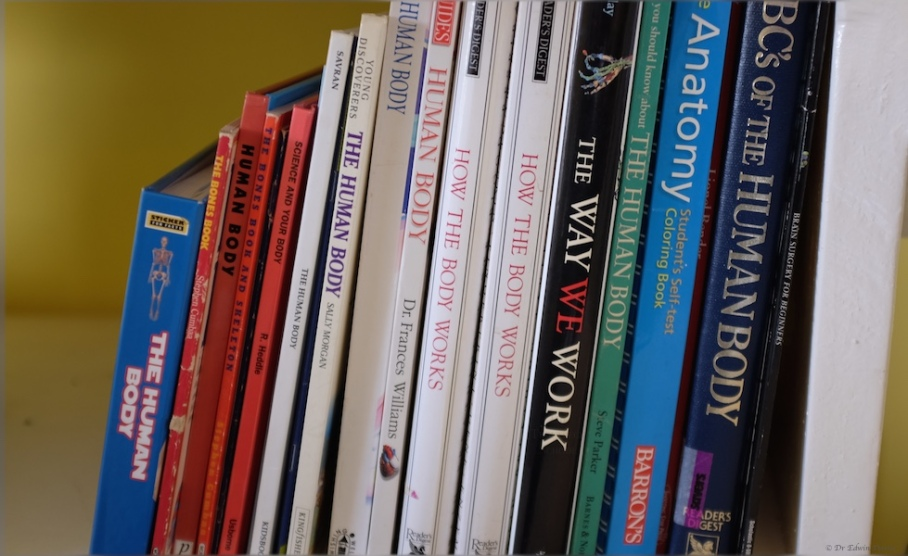 Books on the human body