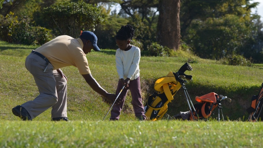Golf tuition with The Troutbeck School