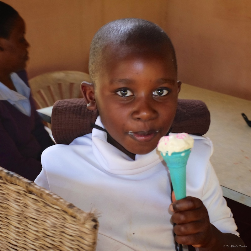 Ice-cream time at Nyamoro Dairy