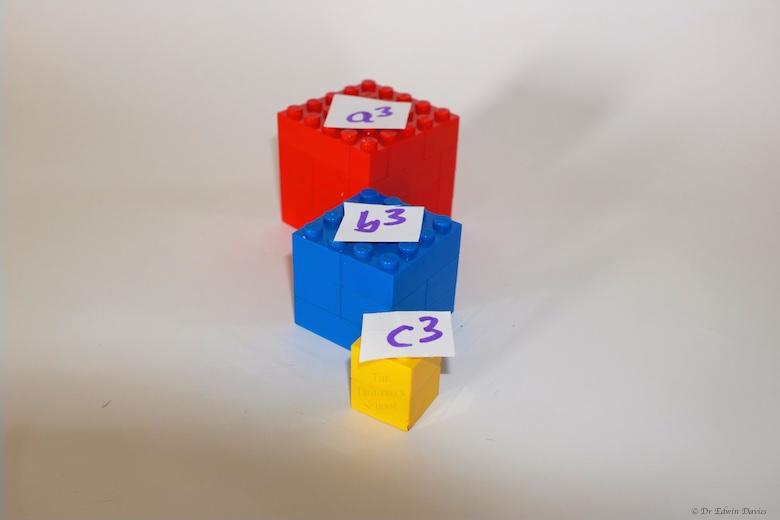 lego trinomial cube a3 b3 c3