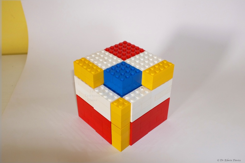 lego trinomial cube building c layer