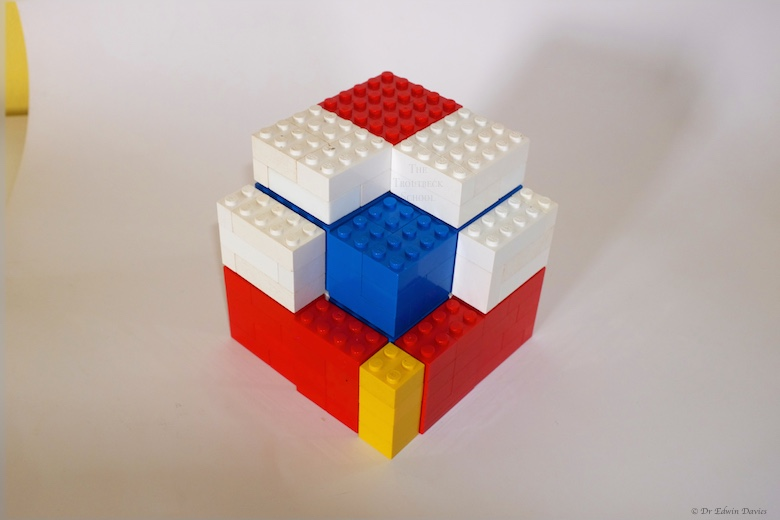 lego trinomial cube dissected