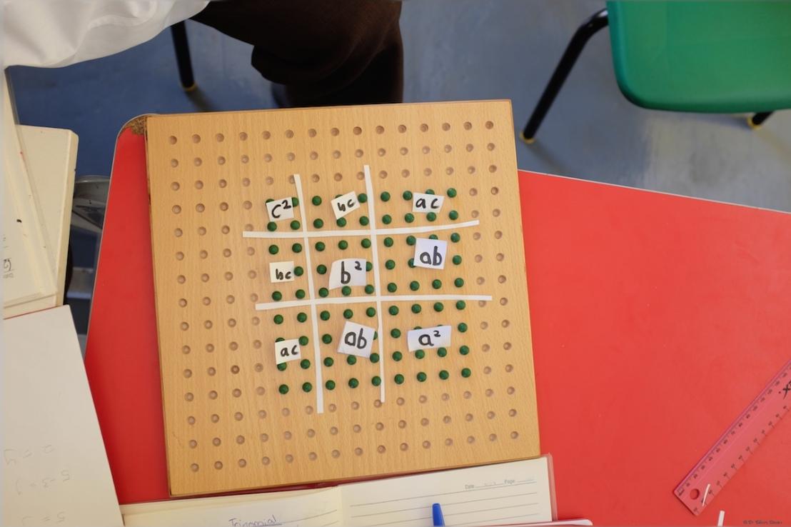 Trinomial square of (a + b + c)