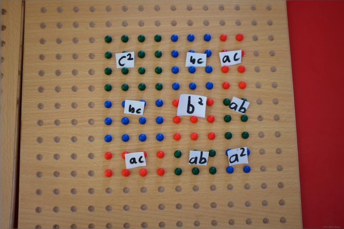 Trinomial square of 234