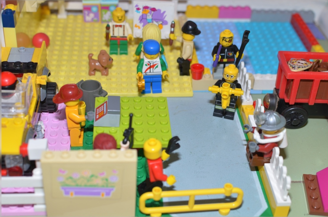Heavy duty Lego workmen