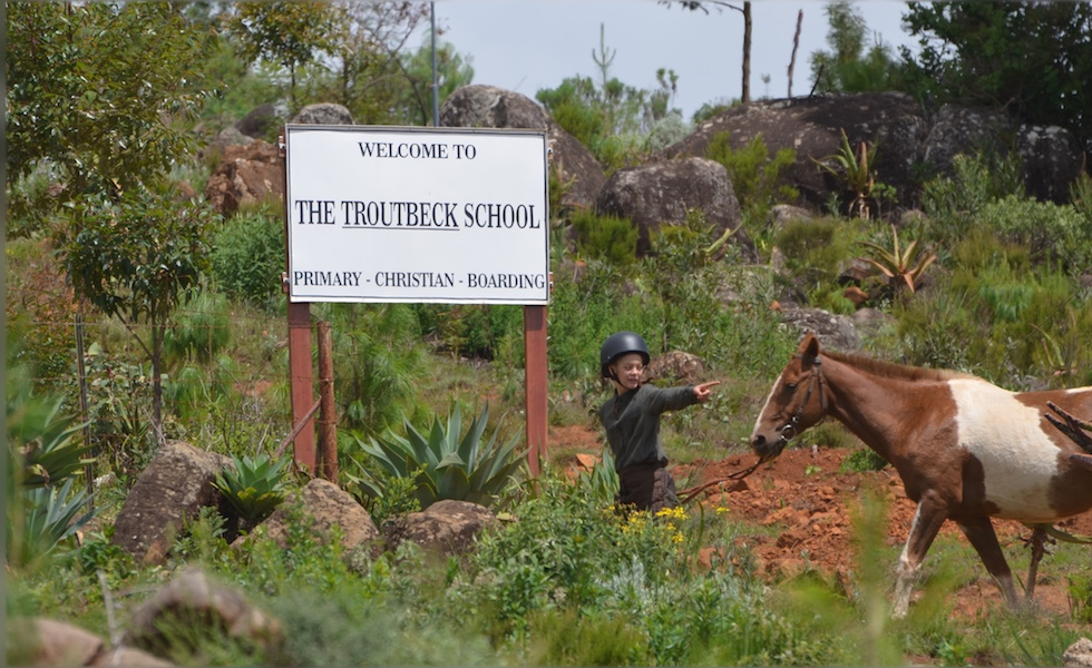 Horse riding at The Troutbeck school