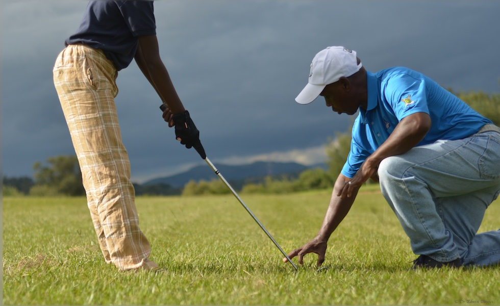 Learning to play golf