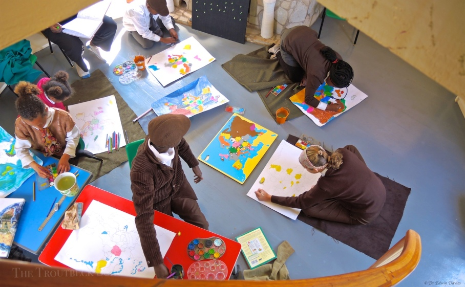 The Office of Cartography at The Troutbeck School, Zimbabwe